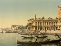 Venedig, Piazzetta / Photochrom von AKG  Images