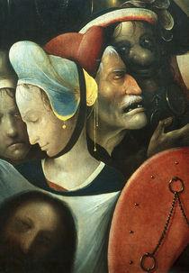 H.Bosch, Kreuztragung, Ausschn.Veronika von AKG  Images