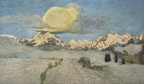 G.Segantini,Tod (Alpen Triptychon) by AKG  Images
