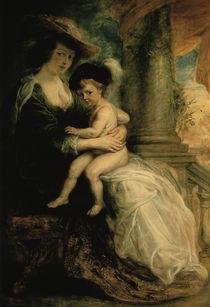 Rubens/ Helene Fourment + Sohn Frans von AKG  Images