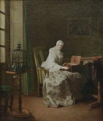 J.B.S.Chardin, Die Vogelorgel von AKG  Images
