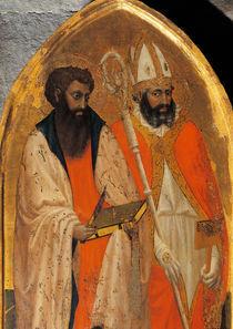 Masaccio, Hl.Bartholomaeus u.Blasius by AKG  Images