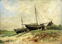 Walter Leistikow, Fischerboote von AKG  Images