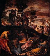 Tintoretto, Wunderbare Brotvermehrung von AKG  Images