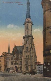 Frankenstein / Rathaus / Postkarte von AKG  Images