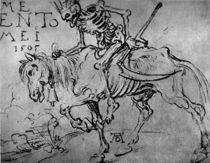 Duerer, Koenig Tod zu Pferde by AKG  Images