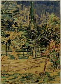 v.Gogh, Stufen im Garten der Heilanstalt von AKG  Images