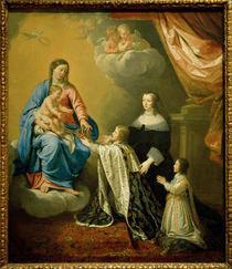 Ludwig XIV. Muttergottes / de Champaigne von AKG  Images