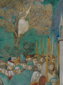 Giotto, Knabe im Baum by AKG  Images