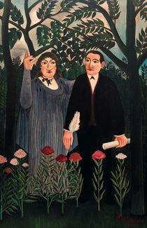 H.Rousseau, Muse inspiriert Dichter von AKG  Images