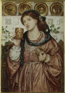 D.G.Rossetti, Der Kelch der Liebe by AKG  Images
