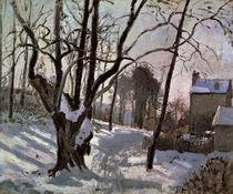 C.Pissarro, Louveciennes (Schneelandsch. von AKG  Images