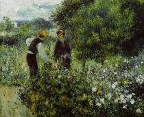 A.Renoir, Beim Blumenpfluecken by AKG  Images