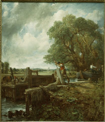 John Constable, Die Schleuse by AKG  Images
