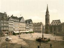 Frankfurt a.M., Roemerberg / Photochrom von AKG  Images