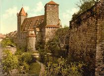 Nuernberg, Burg,Kaiserstallung/Photochrom by AKG  Images
