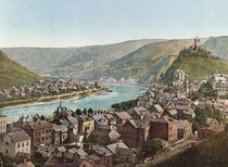 Cochem, Stadtansicht / Photochrom by AKG  Images