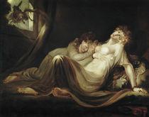 Fuessli/Die Nachtmahr verlaesst Lager/1793 von AKG  Images