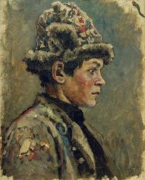 W.I.Surikow, Kopfstudie eines Knaben von AKG  Images