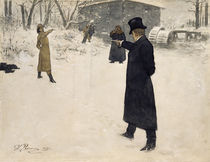 Puschkin, Eugen Onegin / Ill.v.Repin by AKG  Images