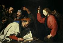 J.de Reibera, 12jaehr.Jesus u.Schriftgel. by AKG  Images