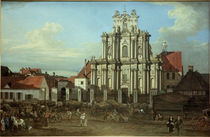 Warschau, Visitantinnenkirche / Bellotto by AKG  Images