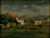 A.Renoir, Ansicht bei Cagnes by AKG  Images