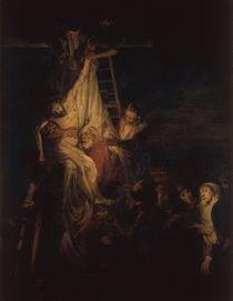 Rembrandt, Kreuzabnahme von AKG  Images