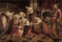 Tintoretto, Geburt Mariae von AKG  Images