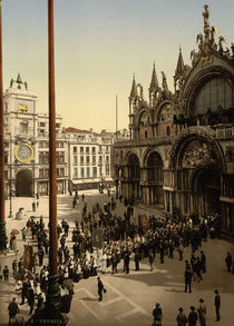 Venedig, S.Marco / Photochrom von AKG  Images