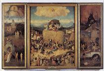 H.Bosch, Der Heuwagen / Triptychon by AKG  Images