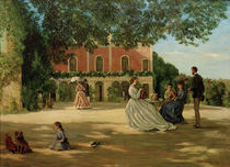 F.Bazille, Terrasse in Meric by AKG  Images