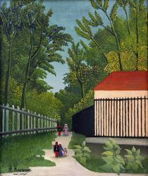 H.Rousseau, Promenade im Park Montsouris von AKG  Images