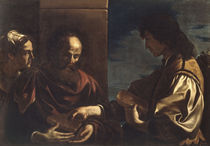 Guercino, Samson bringt Honigwaben von AKG  Images
