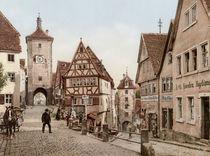 Rothenburg o.d.Tauber,Ploenlein/Photochr. by AKG  Images