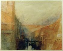 W.Turner, Venedig, Das Arsenal by AKG  Images