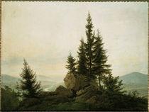 a.D.Friedrich, Ausblick ins Elbtal/1807 by AKG  Images