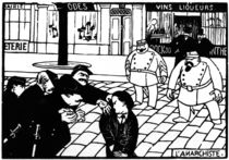 F.Vallotton, Der Anarchist by AKG  Images