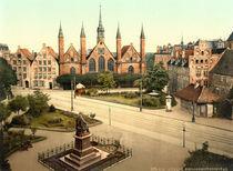 Luebeck, Heiligen Geist Spital/Photochrom von AKG  Images