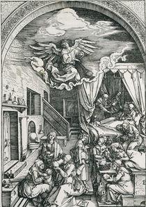 A.Duerer, Geburt der Maria von AKG  Images