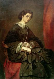 A.Feuerbach, Bildnis Frau Stiebel von AKG  Images