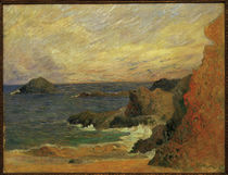 P.Gauguin, Felsen an der Kueste by AKG  Images