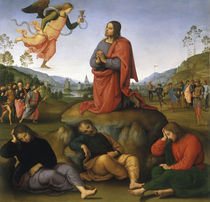 Perugino, Christus am Oelberg von AKG  Images
