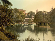 Dresden, Zwingerteich / Photochrom by AKG  Images