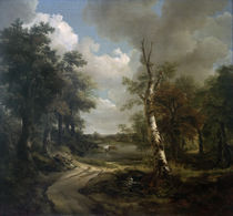 Gainsborough/Waldlandschaft Cornard/1748 von AKG  Images