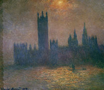 Claude Monet, Parlament (London) von AKG  Images