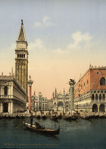Venedig, Piazzetta / Photochrom by AKG  Images