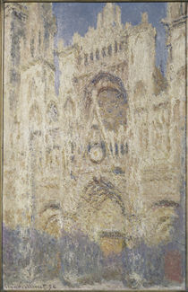 Claude Monet,Kathedrale Rouen / Moskau by AKG  Images