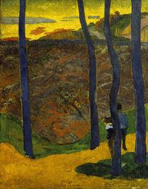 P.Gauguin, Die blauen Baeume by AKG  Images