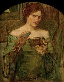 J.W.Waterhouse, Der Liebestrank, 1913 von AKG  Images